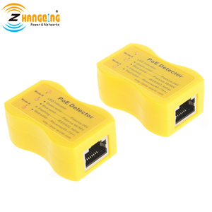 Image 3 - PoE גלאי PoE במהירות לזהות Power over Ethernet עם RJ45 מציין פסיבי/802.3af/at; 24 v/48 v/56 v משמש PoE מזרק