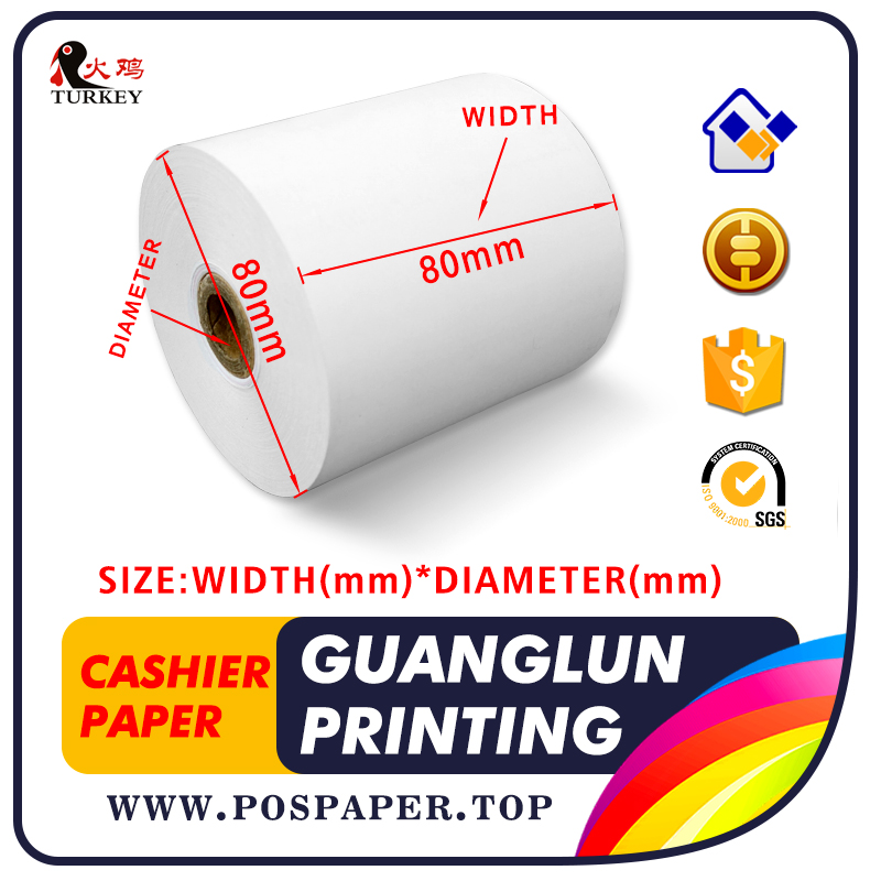 50 rolls) Factory Direct Sales Thermal Receipt Paper 57 x 50mm Cash
