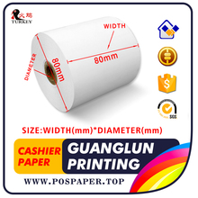 80mm thermal receipt Paper rolls 80x80 sample pack of 2 Rolls