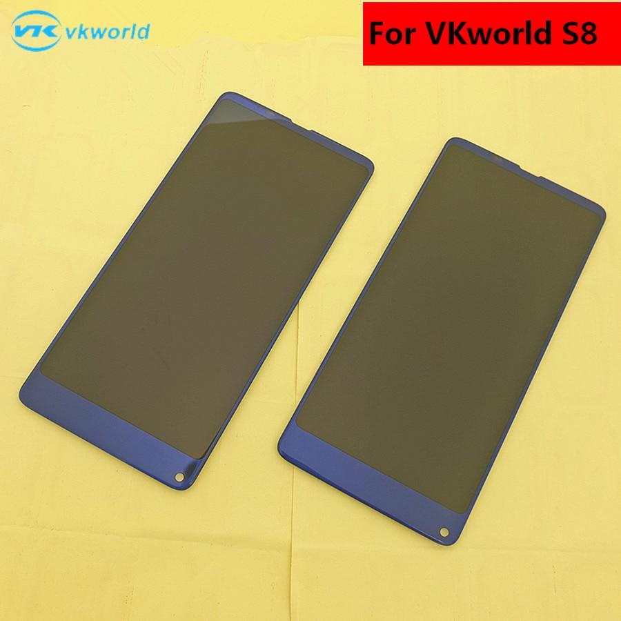 Image 2 - الأصلي ل VKworld S8 شاشة الكريستال السائل + شاشة تعمل باللمس + أدوات محول الأرقام الجمعية استبدال اكسسوارات ل فون 5.99screen touch5 screenscreen assembly -
