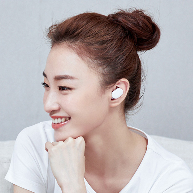 Original Xiaomi AirDots bluetooth Earphone TWS Newest Headset Earbuds Handsfree Smart AI Control Mijia Mi Headphones for Redmi
