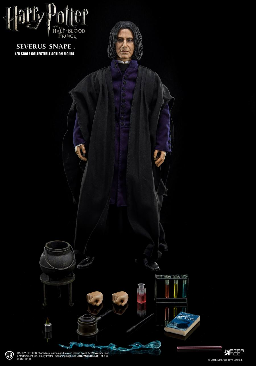 "1/6 scale figure doll <font><b>Harry</b></font> <font><b>Potter</b></font> <font><b>and</b></font> <font><b>the</b></font> <font><b>Half-Blood</b></font> <font><b>Prince</b></font> Severus Snape.12"" action figures doll.Collectible figure model toy"
