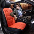 Brand new car seat cushion Luxury Pu Leather Seats Covers 4 seasons artificial leather seat covers for 5 seat for bmw for ford