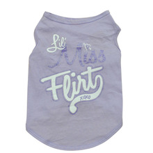 Cotton Dog Rule Vest Clothes