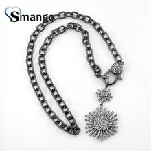 Pop Charms,Fashion Jewelry,The Shape of Sun Pendant Necklace, Long Can Wholesale,3Pieces