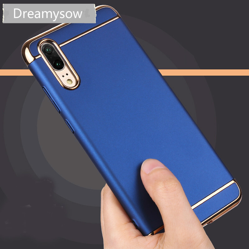 3 in 1 Hard PC Cover Case For Huawei P20 lite pro P Smart P8 P9 P10 Y3 Y5 Y6 2017 V9 Play Nova 2i Honor 9 8 Lite 5X 6X 7X 7C