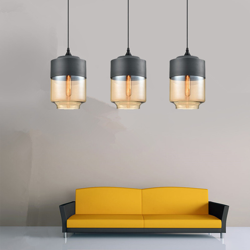 Kitchen Modern Pendant Light Bar Glass Pendant Ceiling Lamp Home Vintage Industrial Pendant Lights Living Room Lighting FixturesKitchen Modern Pendant Light Bar Glass Pendant Ceiling Lamp Home Vintage Industrial Pendant Lights Living Room Lighting Fixtures