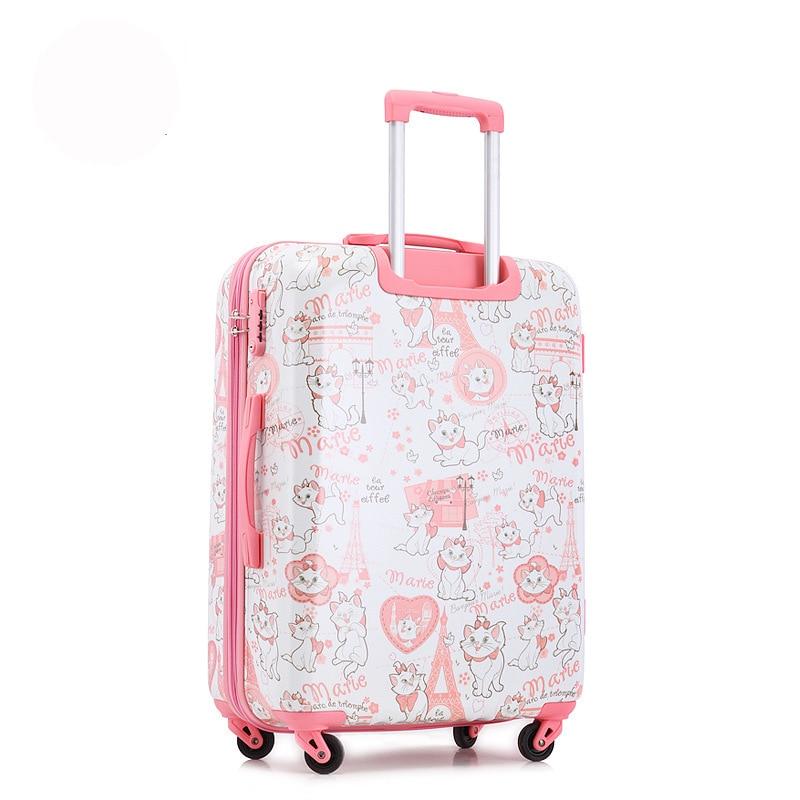 Online Shop mala de viagem com rodinha Cute cartoon hello kitty ...