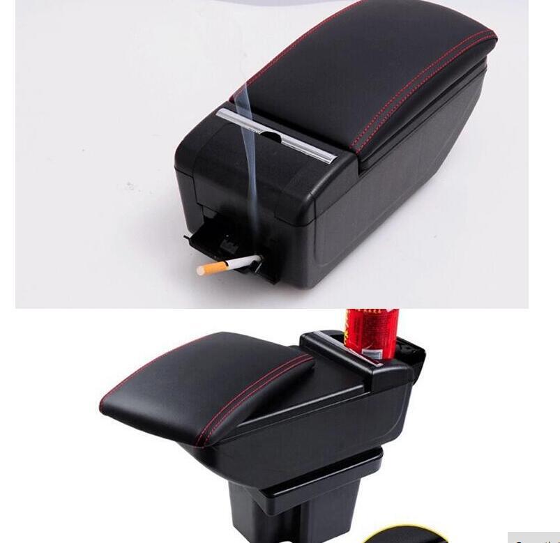 Car armrest center console storage box auto accessories 1 for 1 box auto
