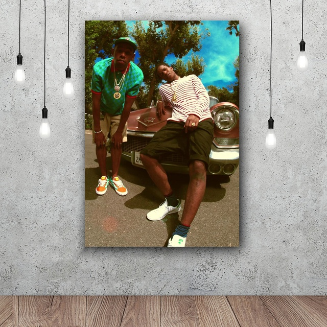 ASAP Rocky Tyler Creator Art Silk Poster Home 12×18 24x36inch