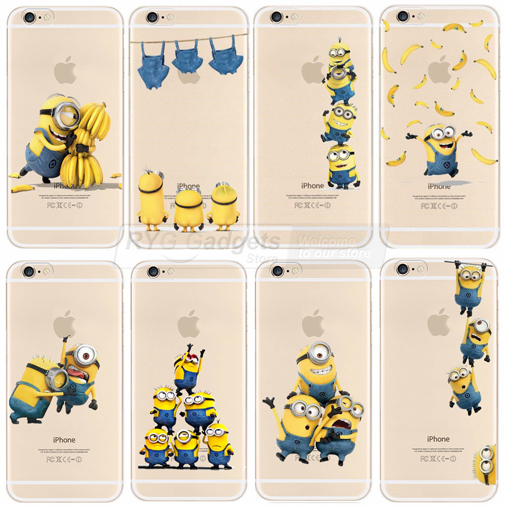 cover iphone 6 minion