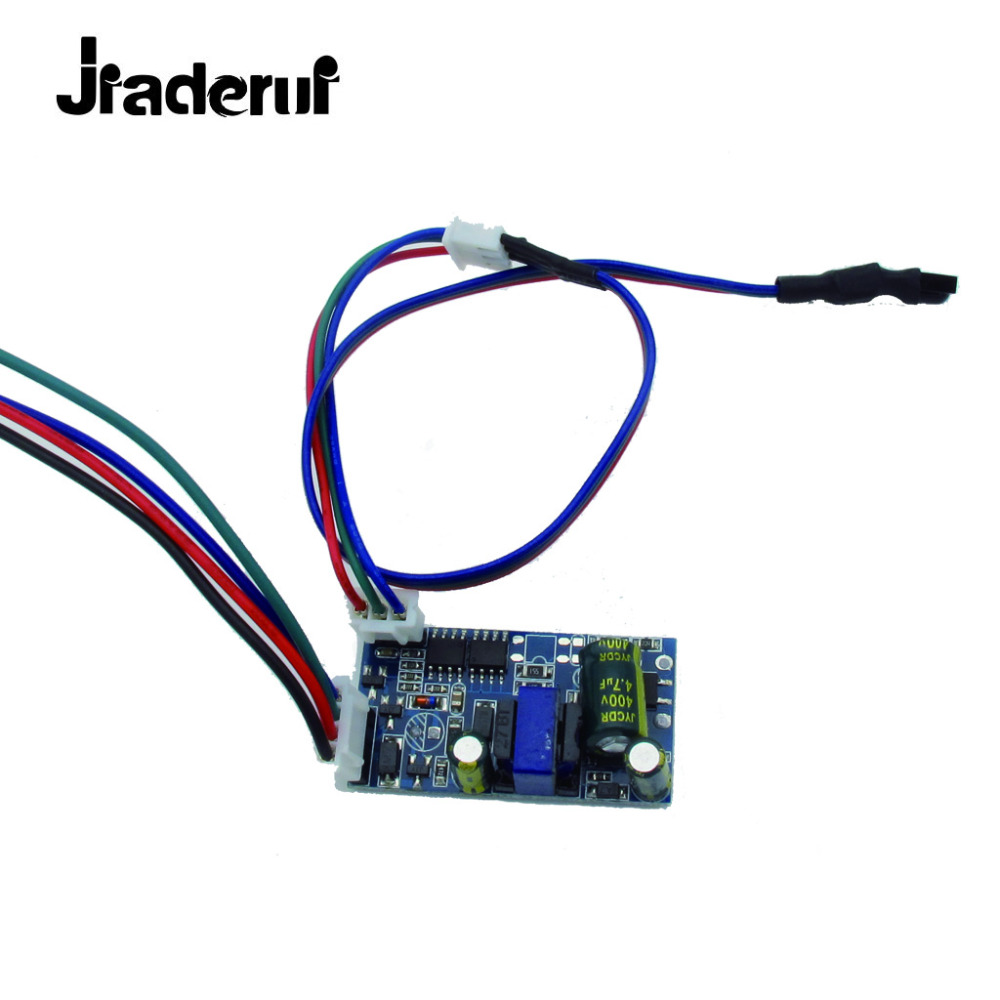 Jiaderui Common anode 10W RGB <font><b>LED</b></font> <font><b>Driver</b></font> for 10W RGB <font><b>LED</b></font> Chip COB SMD <font><b>LED</b></font> Beads Stage Light 24 Key IR Remote image