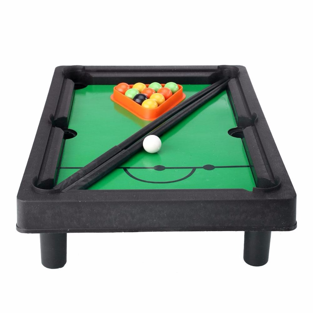 Peradix Kids Mini Tabletop Pool Table Snooker Billiards Toys Easy To  Assemble Creative Fight Ball Illiards