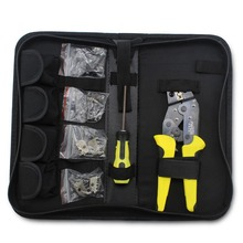 pliers cable Multi-function ratchet crimping pliers wire cutter set crimping pliers wire stripper cable cutter crimper
