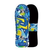 Freestyle 30 inch Long Skate Board Complete Retro Graffiti Style Skateboard Cruiser Long Board Skateboards