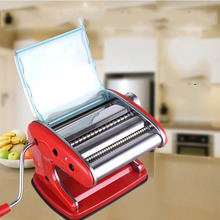 Pasta machine household pressing manual stainless steel hand-cranked small dumplings pasta