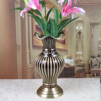 17,4X17,4X39,7 см Европа Ретро Фонари колокол металлические цветы вазы для свадьбы столешницы ваза украшения дома ваза подарок HP078A