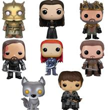 Funko POP Anime Song Of Ice And Fire Game Thrones Collectible Model Boy Toys Movie Action Figure Kids For Chlidren