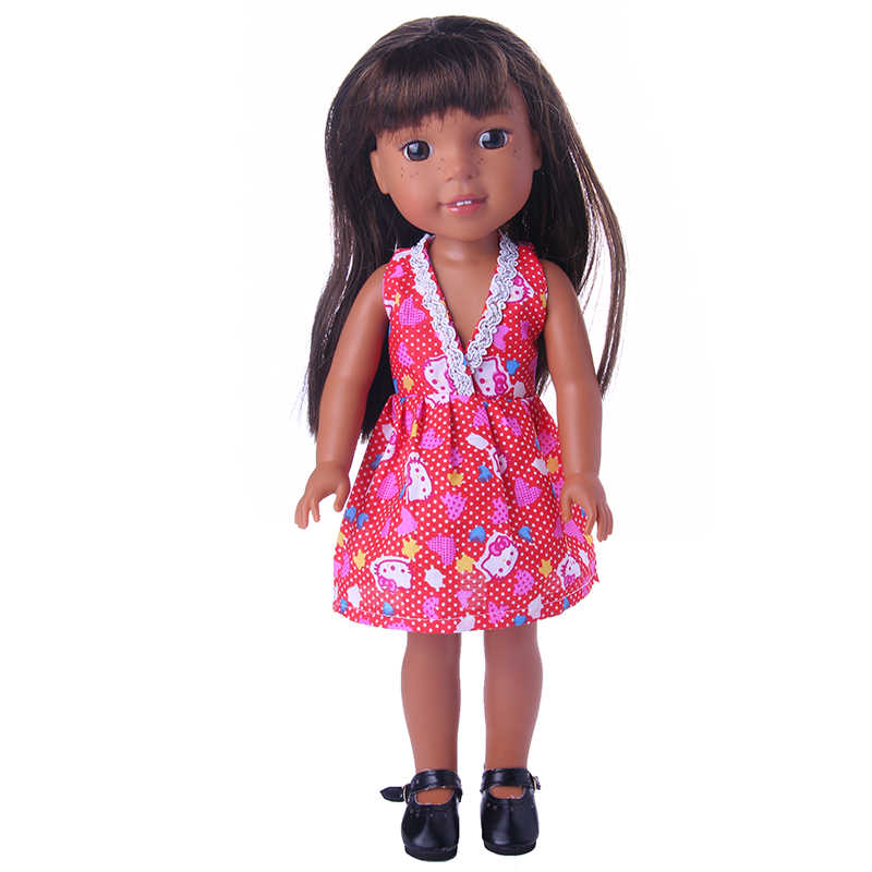 בעבודת יד בובת בגדי חצאיות מבצעים עבור 14.5 אינץ Wellie Wisher עבור דור ילדה של צעצוע