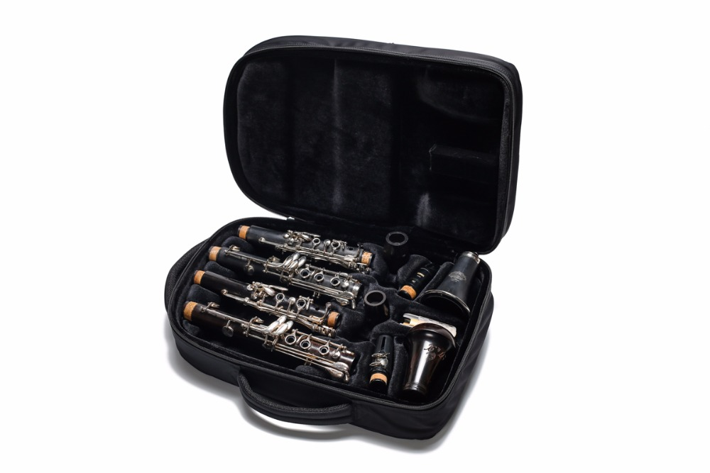 Double Clarinet Messanger case for A and Bb Clarinet ...