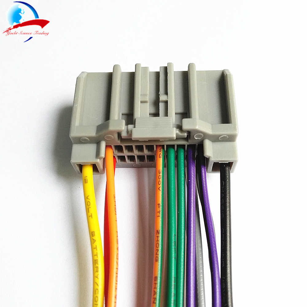 Car Styling Car Audio Stereo Wiring Harness Adapter Plug For Jeep  on radio harness adapters, chevy trailblazer stereo harness adapters, stereo wiring harness color codes, car stereo adapters, stereo wiring harness kit, car audio harness adapters,