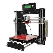 2016 Más Reciente Mejorado Seis Materiales de Apoyo de Calidad Alta Precisión Reprap GT2560 Prusa i3 DIY 3D kit de Impresora Placa Principal LCD envío