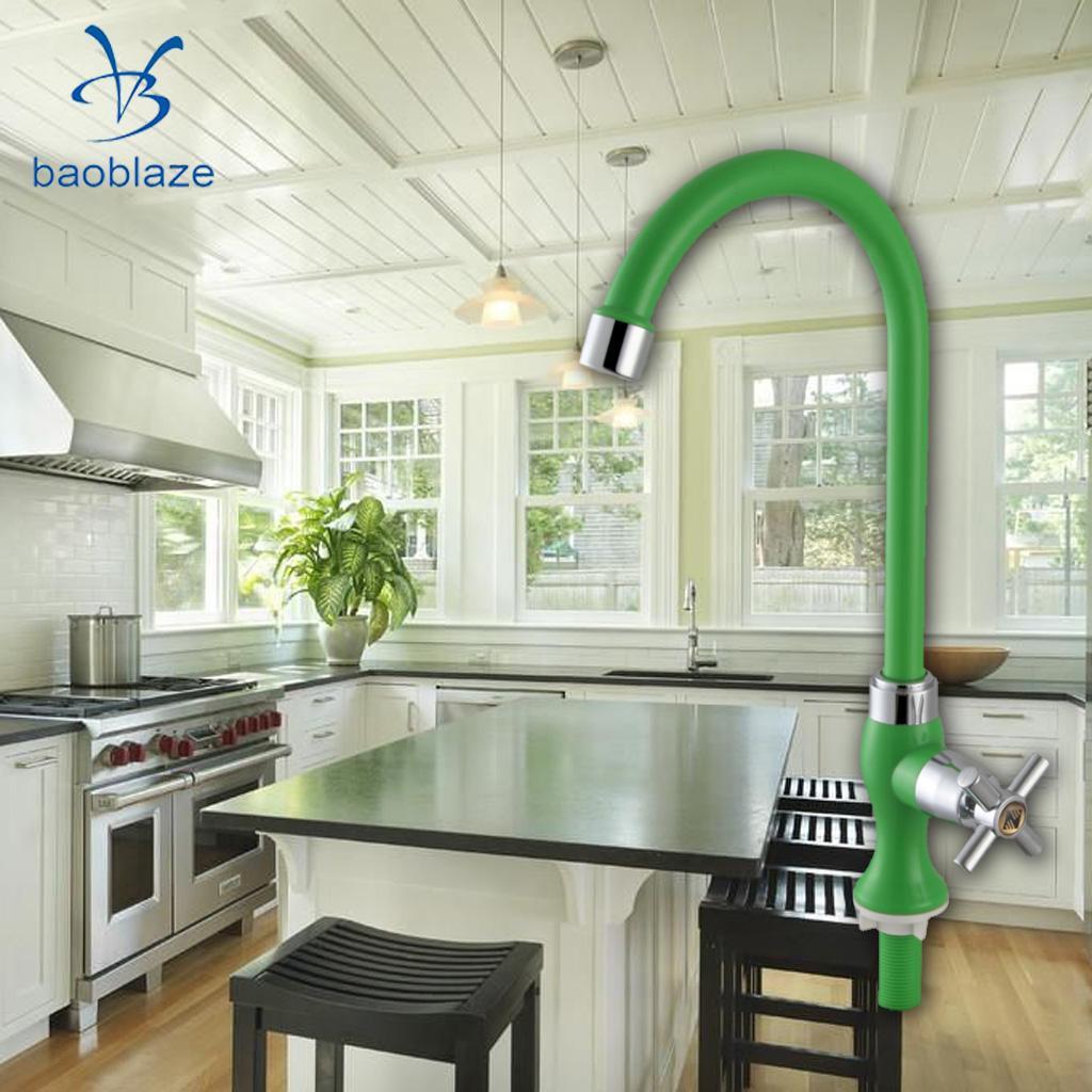 Deck Montiert 360 Grad Gedreht Kaltem Wasser Kuchenarmatur Wasche