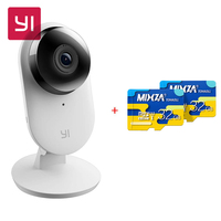 YI Home Camera 2 International Edition With 32GB Micro SD FHD 1080P 130 Wide Angles Gesture
