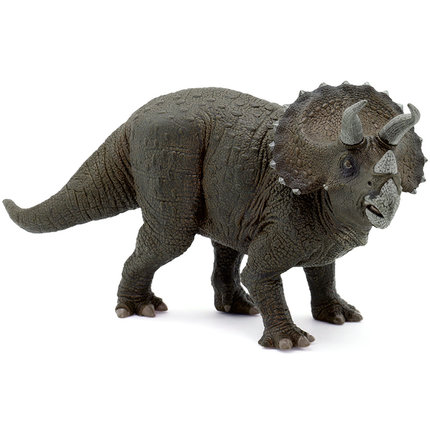 Papo Triceratops Simulated Dinosaur Model Museum Collection Jurassic World Ancient Creatures Children's Toys devil dinosaur by jack kirby the complete collection