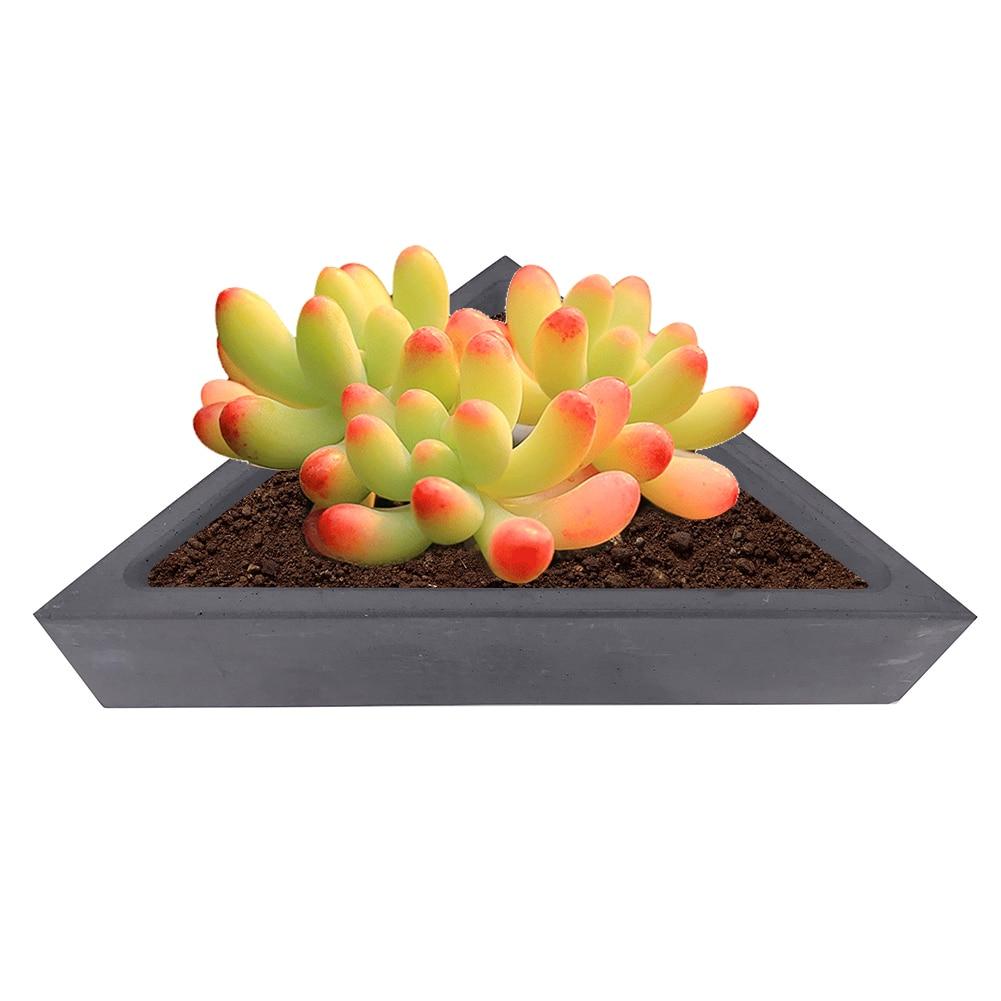 3D Silicone Flower Pot Succulent Plants Mold DIY Crafts Concrete Vase Soap Mould