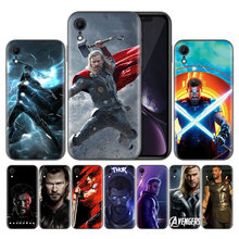 Sacos capa coque capas para apple iphone 7 7 s 8 plus x xs max xr 5 5S se 6 6s macio para trás capas chris hemsworth avengers thor(China)