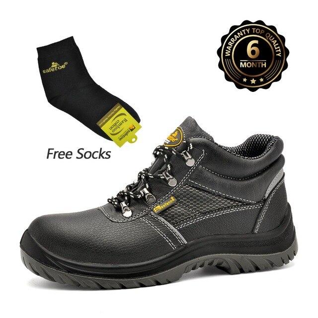 Safetoe zapatos de seguridad botas de trabajo hombres puntera de ...