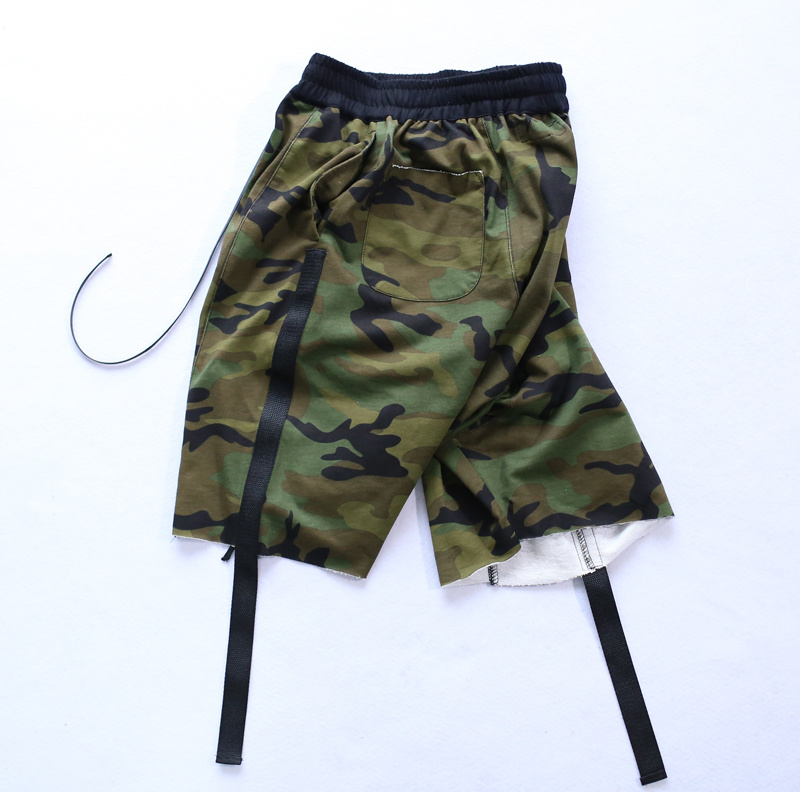 HZIJUE moške kratke hlače maskirni hip hop Justin Bieber slog - Moška oblačila - Fotografija 5