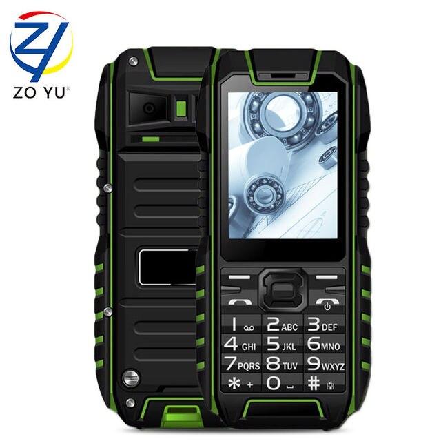 competitive price 857df 7edb7 US $38.99 |ZOYU IP68 Dustproof and waterproof mobile phone 2GDual SIM card  senior phone the Business phone 1450mAh Cell phone-in Mobile Phones from ...