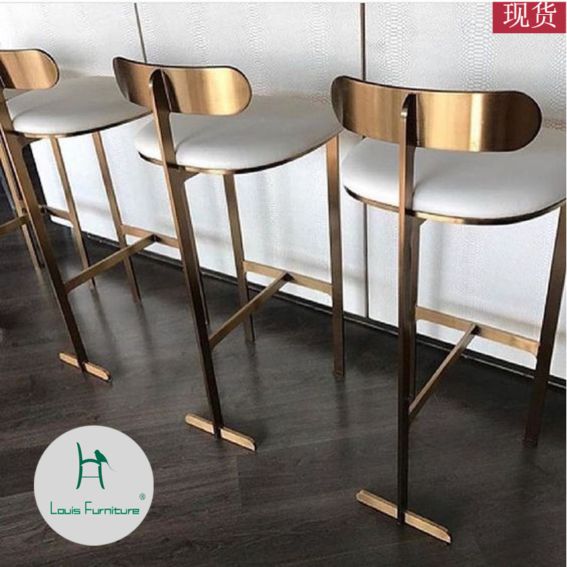 Bar Stools Household High Dining Room