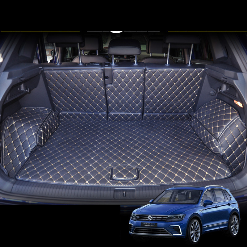 2017 2018 2019 Volkswagen Reviews: Lsrtw2017 Fiber Leather Car Trunk Mat For Volkswagen