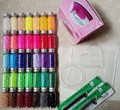 2.6mm Hama Beads~Perler Beads Fuse Beads ~Set of 35 Color 22000pcs+3 Template+10 Iron Paper+2 Tweezers,Diy Kids Toy Craft