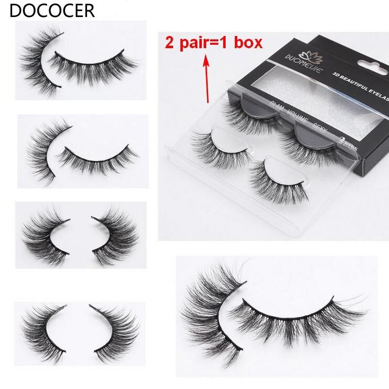 100 Pairs 3D Mink Lashes Natural Long False Eyelashes Dramatic Volume Fake Lashes Makeup Eyelash Extension