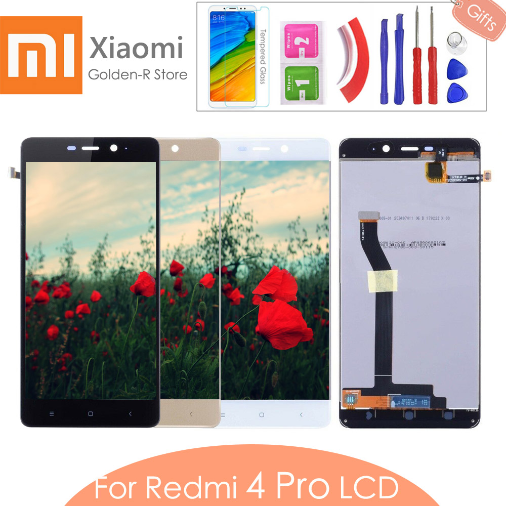 "5.0"" AAA quality For <font><b>Xiaomi</b></font> <font><b>Redmi</b></font> <font><b>4</b></font> <font><b>Pro</b></font> Redmi4 Prime LCD display + <font><b>Touch</b></font> <font><b>Screen</b></font> Digitizer Replacement with frame 3G RAM 32GB ROM image"