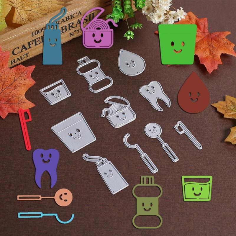 Electronic Components & Supplies Objective One Window Two Worlds Dog Metal Cutting Dies New 2019 Stencils For Diy Scrapbooking Diy Paper Cards Craft Making Craft Decoratio