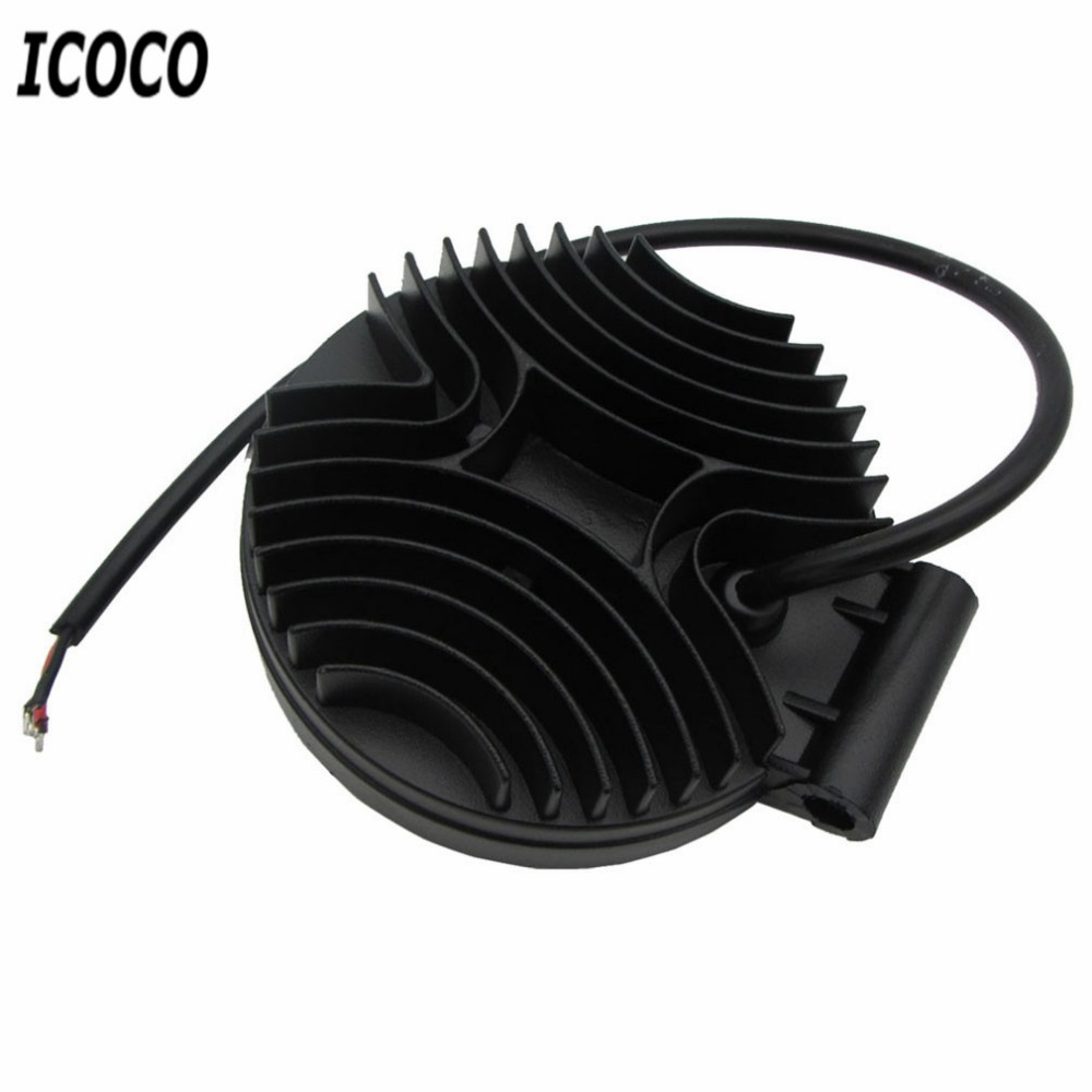 ICOCO 4 Inch 27W 10-30V DC Flood Beam LED Bulbs Work Light Lamp Portable Bar Boat Tractor Truck Off-road For SUV LED light