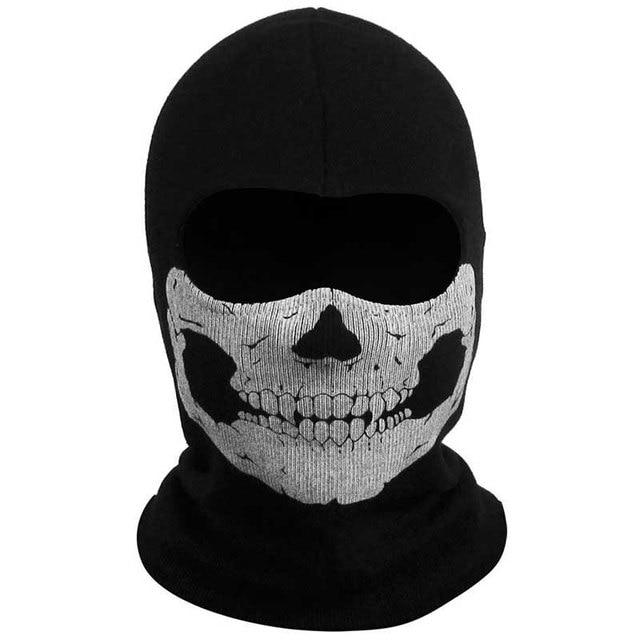 Mayitr 1pc Balaclava Skull Mask 4 Styles Ghost Skull Motorcycle Cycling Full Face Airsoft Game Cosplay Mask New 2