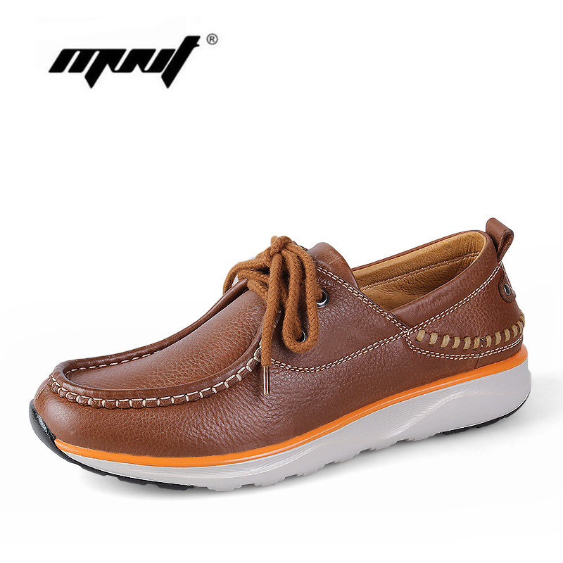 Handmade men shoes Soft full genuine leather men flats shoes Plus size outdoor men shoes Top quality classic autumn shoes top brand high quality genuine leather casual men shoes cow suede comfortable loafers soft breathable shoes men flats warm