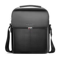 NEW Brand Business Briefcase Handbags Shoulder Bag Leather Men Crossbody Bags For Men Casual High Quality