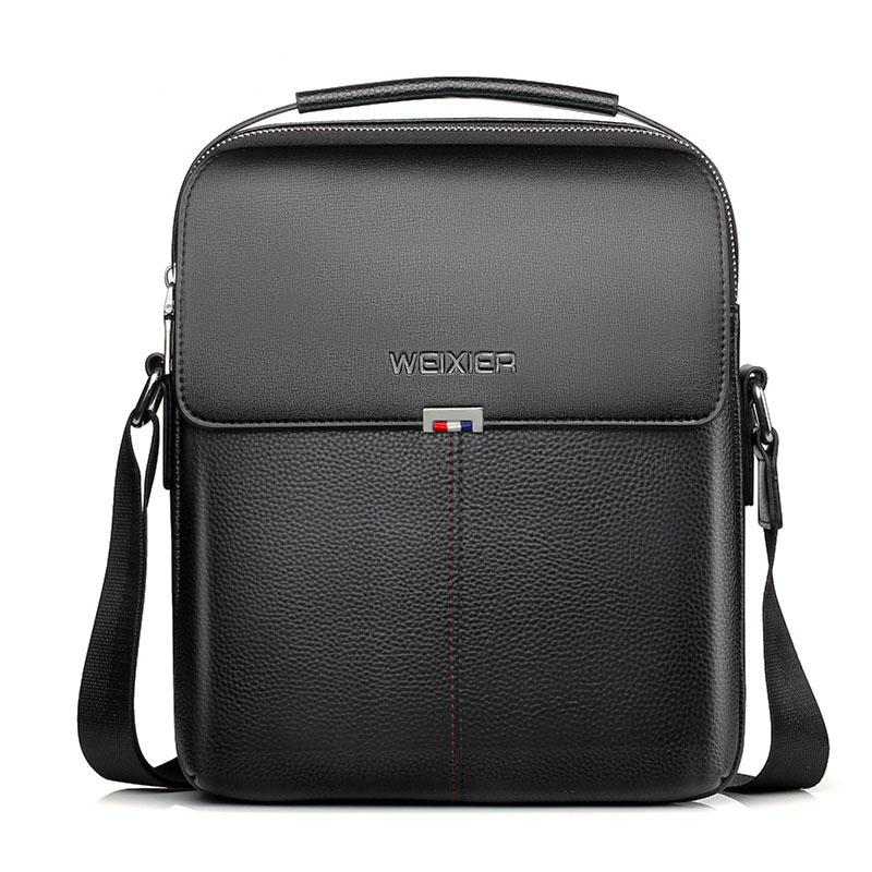 NEW Brand Business Briefcase Handbags Shoulder Bag Leather Men Crossbody Bags For Men Casual High Quality