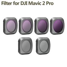 DJI Mavic 2 Pro Filters ND4 ND16 ND32 CPL MCUV Neutral Density Camera Polar Lens Filter kit for Mavic 2 pro drone accessories