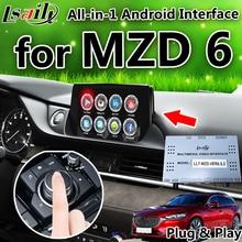 Android 6,0 7,1 gps навигация коробка для 2014-2019 Mazda 6 и т. д. с mirrorlink youtube Гул игра видео интерфейс