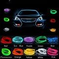 Auto Atmosphere Light 2M 12V Car Cold light Wire Neon Lamp Decor Accessories For Kia rio sportage ceed rio k2 cerato sorento k3