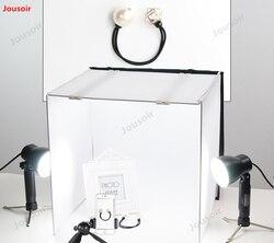 Soft Lighting Studio LED mini Life table white bottom fill light box 40cm shed top lamp softbox photo table CD50 T03
