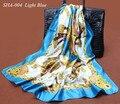 Осень Шарфы Женщины Дамы Шифон Квадратный Шарф 100% Полиэстер Шелковый Шарф и Шаль 90*90 см Мусульманин Хиджаб треугольник кружева шарфы